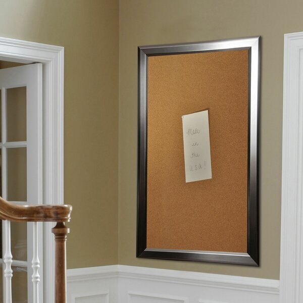 Madilyn Nichole Rounded Wall Mounted Bulletin Board by Rayne Mirrors