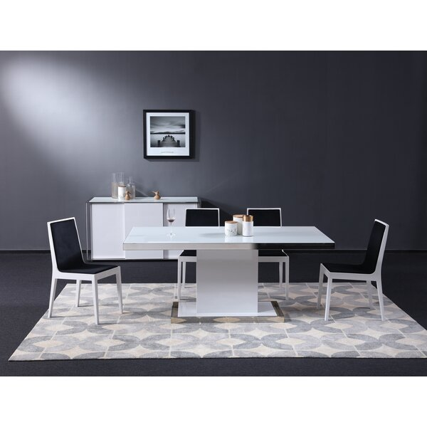 Trafford 5 Piece Dining Set by Orren Ellis