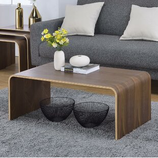 Top Reviews Dreshertown Bentwood Coffee Table ByGeorge Oliver