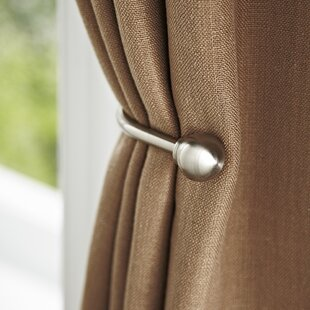 Curtain Tie Backs & Holdbacks You\'ll Love | Wayfair