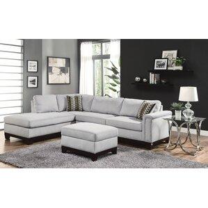 Carson Reversible Sectional  sc 1 st  AllModern : leather couch sectional - Sectionals, Sofas & Couches