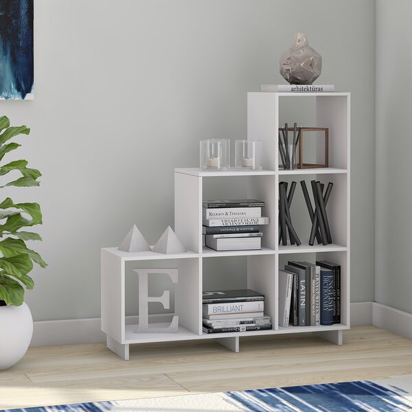 Susannah Stair Step Bookcase by Latitude Run