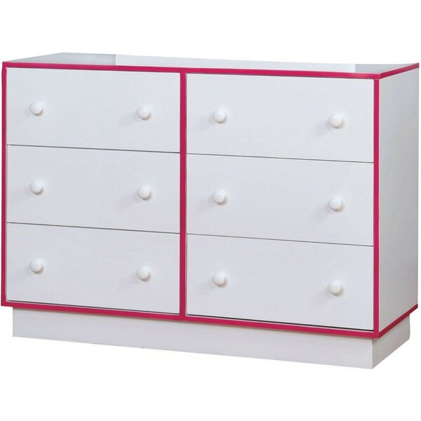 Barraclough 6 Drawer Double Dresser By Latitude Run Top Reviews