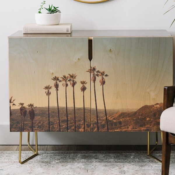 Catherine McDonald Hollywood Hills Credenza by East Urban Home East Urban Home