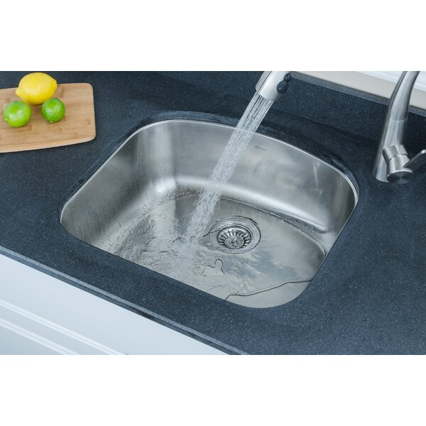 Chicago Series 23.06 L x 20.88 W D-shaped Kitchen Sink by Wells Sinkware