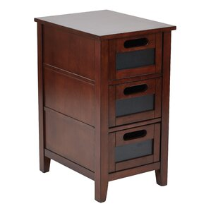 Framboise End Table With Storage by Loon Peak
