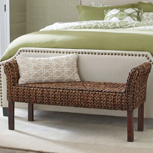 Beautiful Clearwater Woven Bench