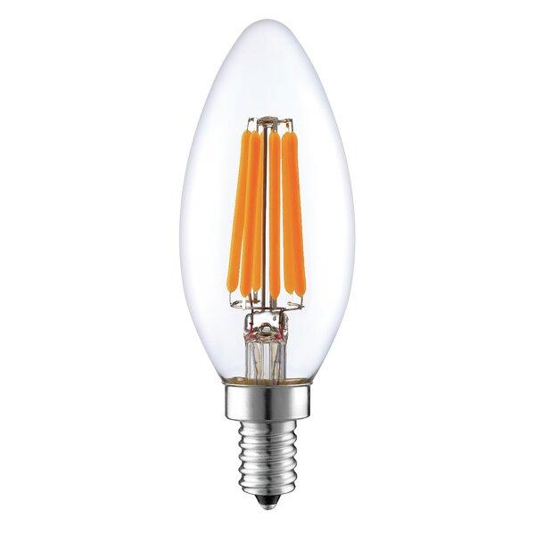 6W E12 LED Vintage Filament Light Bulb by Aspen Brands