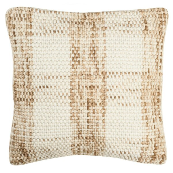 Leetsdale Woven Plaid Throw Pillow by Gracie Oaks