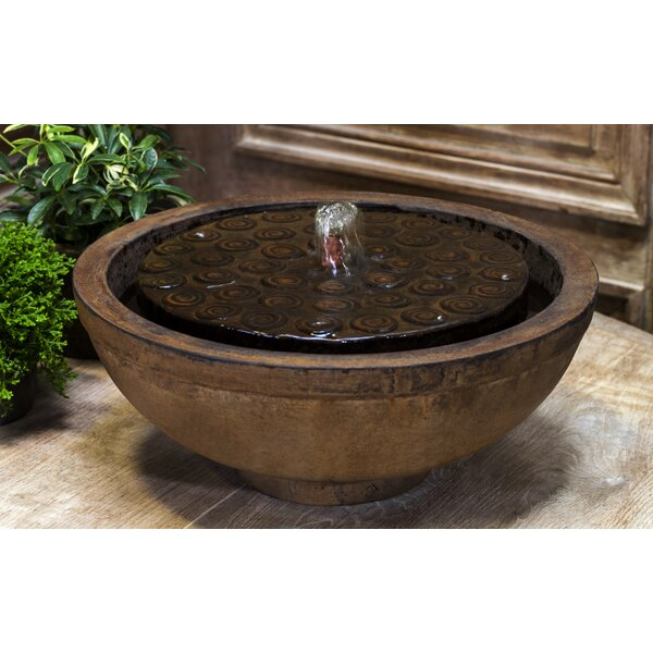 Cirrus Garden Terrace Fountain by Campania International