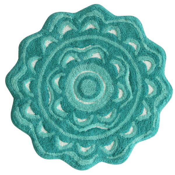 Medallion Aqua Sea Area Rug by Jessica Simpson Home