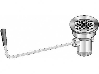Lever Waste 2 Grid Kitchen Sink Drain by Aero Manufacturing