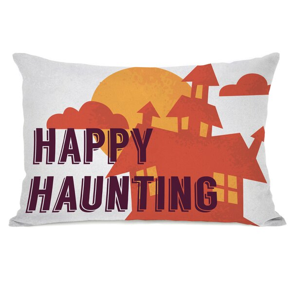 Happy Haunting Lumbar Pillow by One Bella Casa