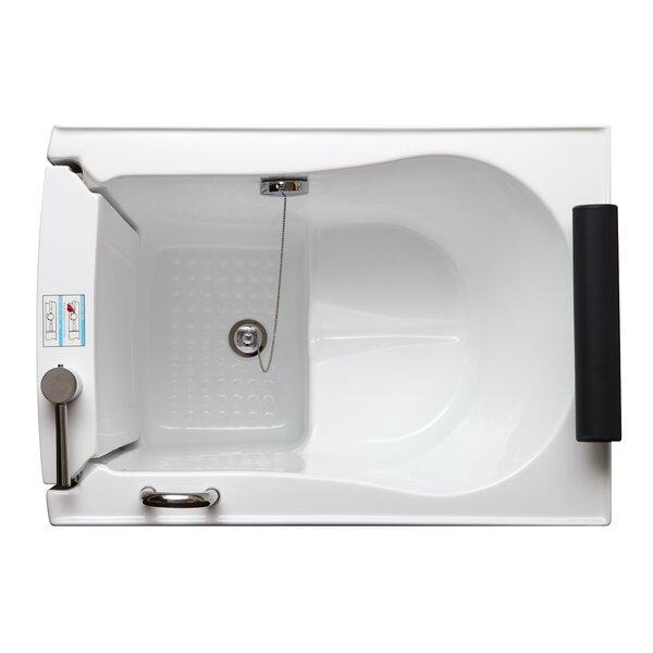 39 x 28 Walk-in Soaking Bathtub by Legion Furniture