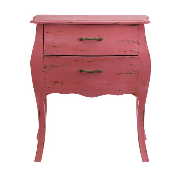 Noriko 2 Drawer Accent Chest by Ophelia & Co.