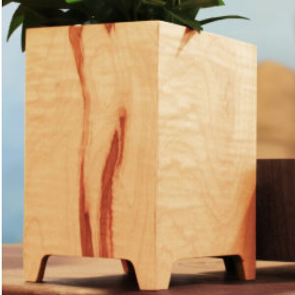 Wood Planter Box by Tronk Design