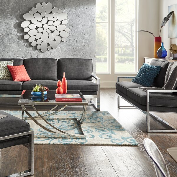 Adalbert 4 Piece Living Room Set by Trent Austin Design