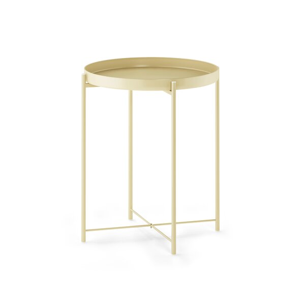 Murphy Round Metal Tray Table By Mercer41