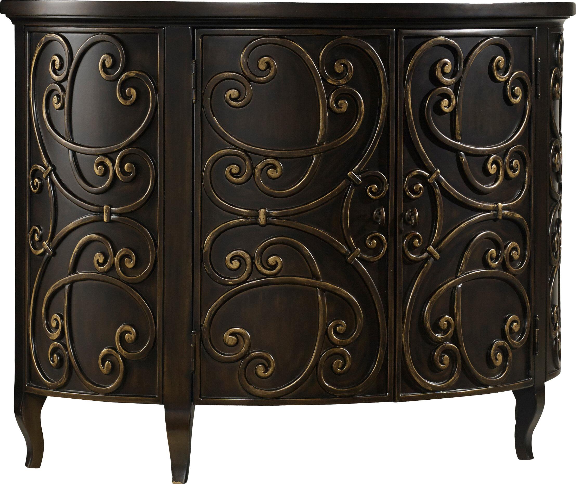 Hooker Furniture Demilune 2 Door Accent Cabinet U0026 Reviews | Wayfair