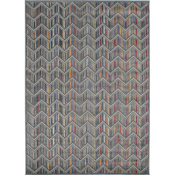 Griffeth Gray Area Rug by Ivy Bronx