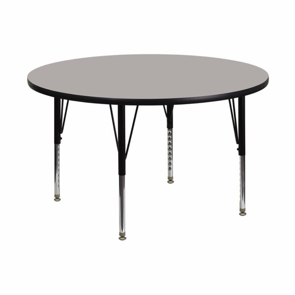 High Pressure Laminate Top 48 Circular Activity Table by Offex