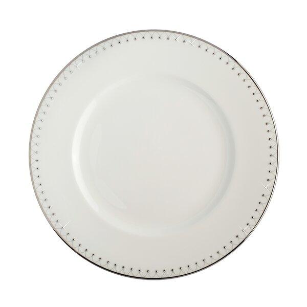 Princess Platinum Bone China 10.5 Dinner Plate