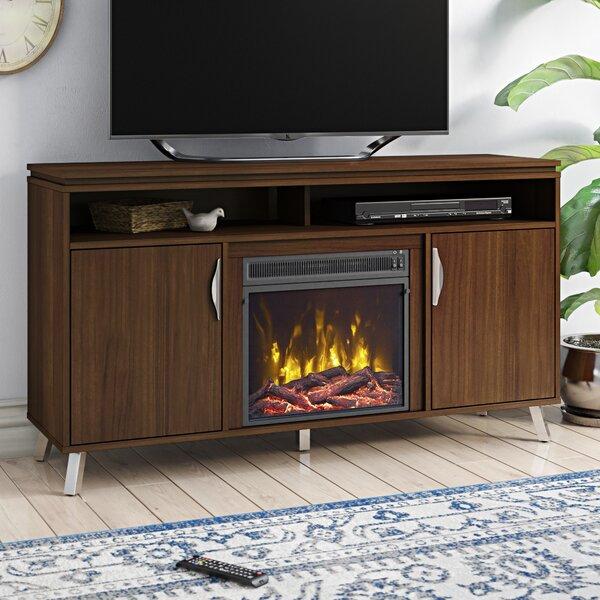 Compare Price Geraldina TV Stand With Fireplace