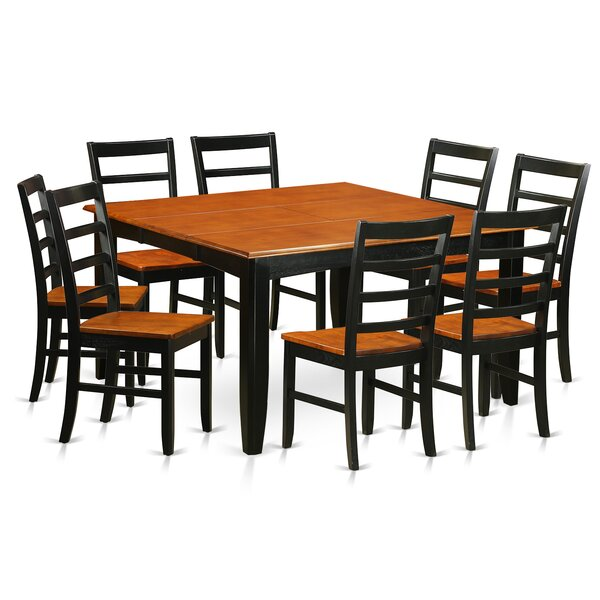 Bargain Parfait 9 Piece Dining Set By Wooden Importers Discount