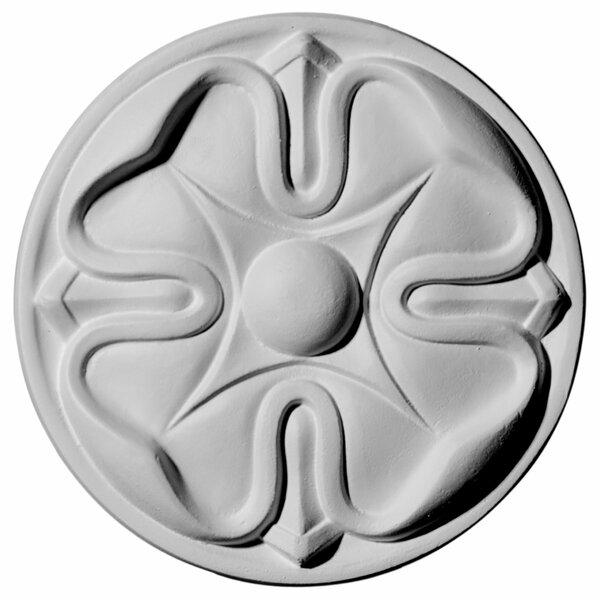 Flower 5W x 3/4D Rosette by Ekena Millwork