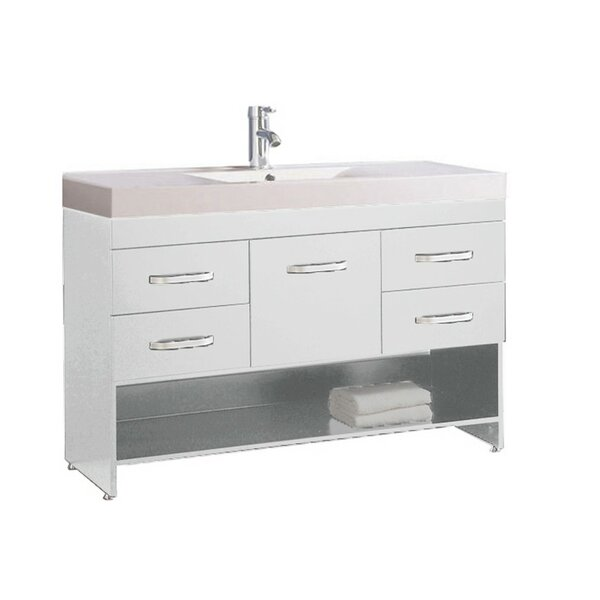Preas Modern 47 Single Bathroom Vanity Set by Orren Ellis