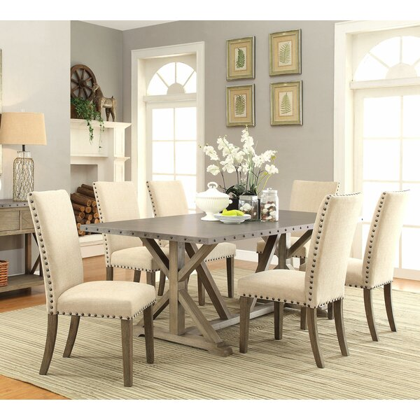 Athens 7 Piece Dining Set by Infini Furnishings
