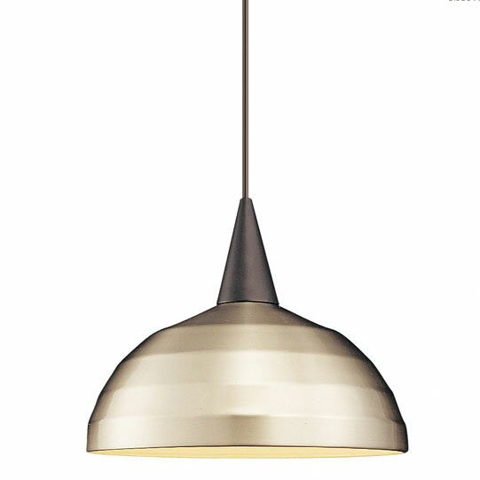 Industrial Felis 1-Light Pendant by WAC Lighting