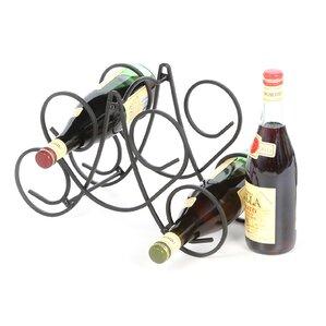 Hyder 5 Bottle Tabletop Wine Rack by Andover Mills