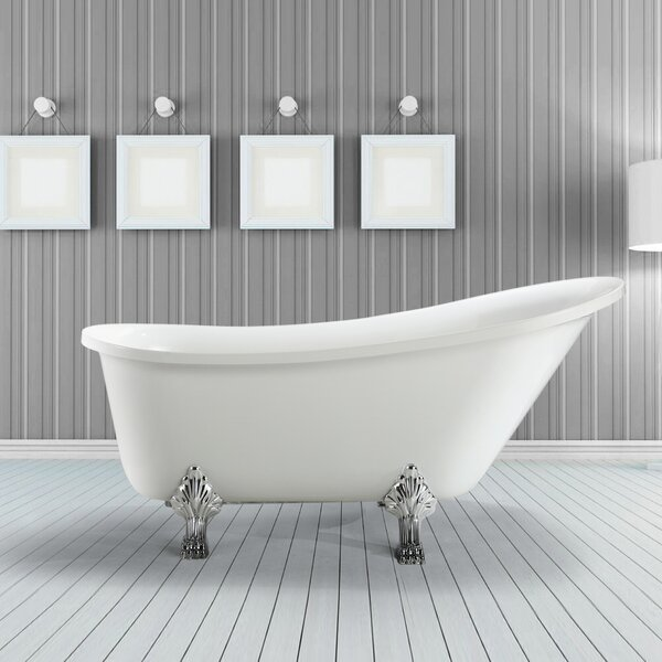 Jacqueline 70 x 30 Soaking Bathtub by Vinnova