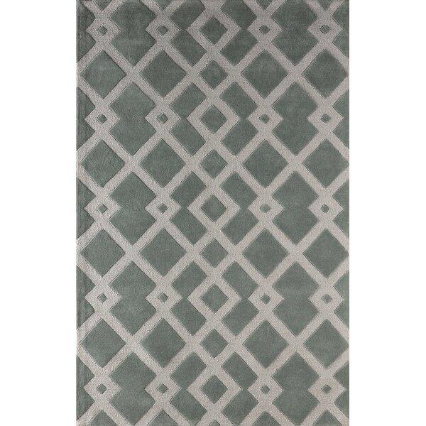 Glenside Hand-Tufted Slate Area Rug by Mercer41