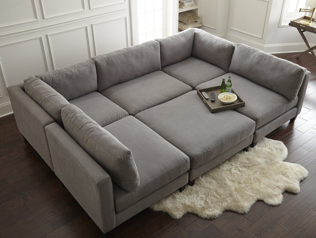home by sean catherine lowe chelsea modular sectional reviews wayfair. Black Bedroom Furniture Sets. Home Design Ideas