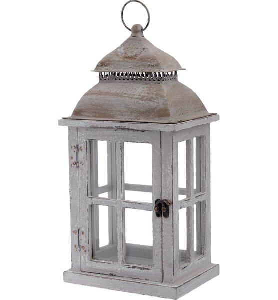 Light Outdoor Hanging Wood Lantern by Boston International