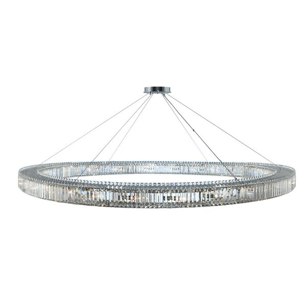 Richwood 24-Light Crystal Chandelier by Everly Quinn