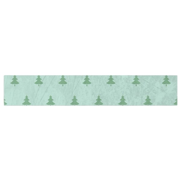 Snap Studio Pine Pattern Table Runner by East Urban Home