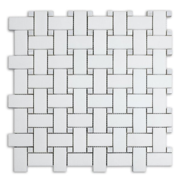 Mother of Pearl Dot 12 x 12 Marble Mosaic Tile