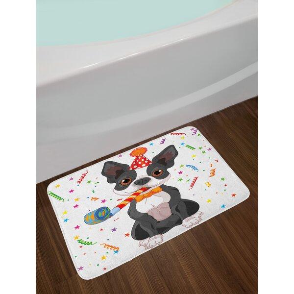 Black Kids Birthday Bath Rug by East Urban Home