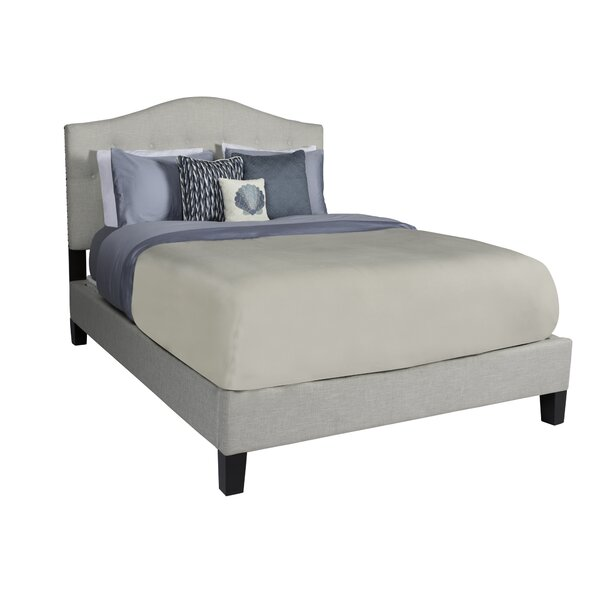 Anguila Upholstered Panel Bed by Rosecliff Heights