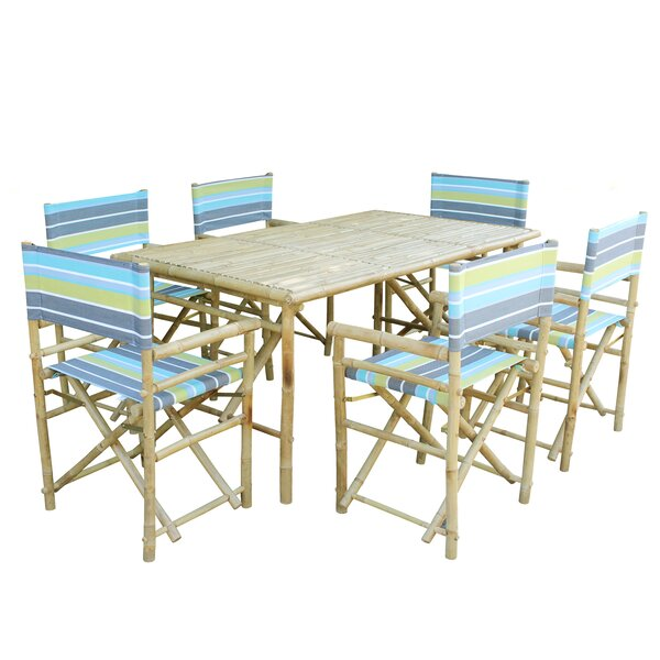 7 Piece Dining Set by ZEW Inc