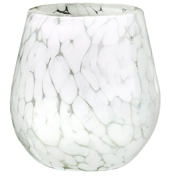 Carmen Marble 16 oz Stemless Wine Glass Set (Set of 4) by Global Amici
