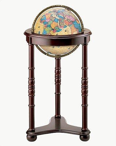 Lancaster Antique World Globe by Replogle Globes