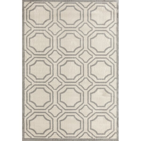 Freeman Cream Area Rug by Charlton Home