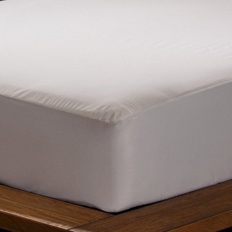fitted mattress protector. Stain Fitted Hypoallergenic Waterproof Mattress Protector