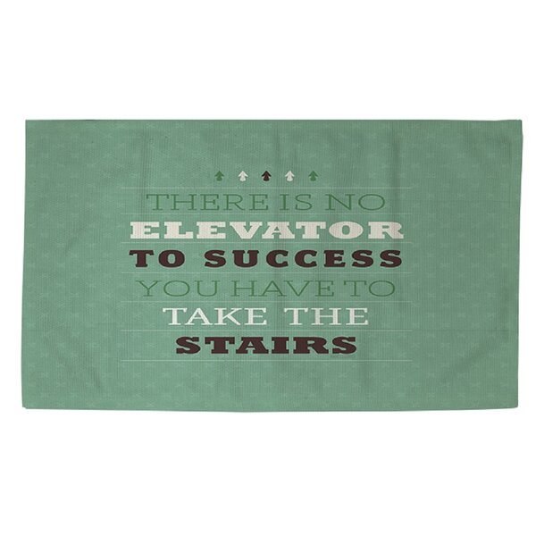 Take the Stairs Area Rug by Manual Woodworkers & Weavers