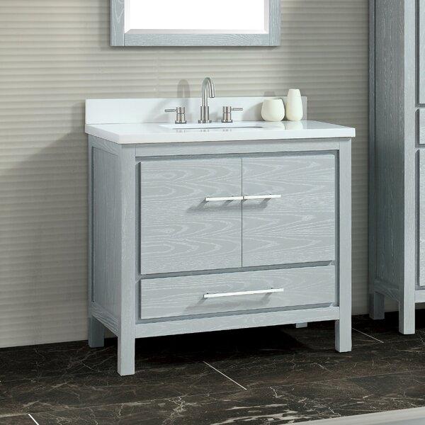 Liverman 37 Single Bathroom Vanity Set