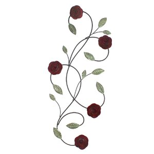 Pomeroy Roses Wall Art by Fetco Home Decor